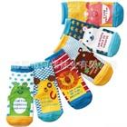 ถุงเท้าแฟชั่นเด็กลายสัตว์สีสดใส-(20-คู่-/pack)