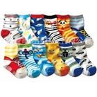 ถุงเท้าแฟชั่นเด็กสกรีนลายสีสดใส-(20-คู่-/pack)