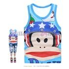 เสื้อกล้าม-ลิงยิ้มแย้ม-สีฟ้า-(6size/pack)