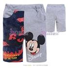 กางเกงขาสามส่วน-Mickey-Mouse-สีเทา-(6size/pack)