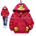 เสื้อกันหนาว-Angry-birdsสุดเก๋า-สีแดง-(6size/pack)