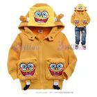 เสื้อกันหนาว-Spongebob-สีเหลือง-(6size/pack)