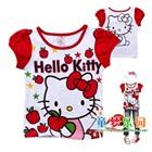 เสื้อเด็กแขนสั้น-Hello-Kitty-สีขาว-(6ตัว/pack)