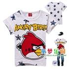 เสื้อเด็กแขนสั้น-Angry-Bird-สีขาว-(6ตัว/pack)