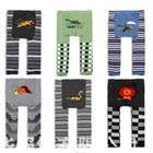 กางเกงขายาวลายการ์ตูนอวกาศ-คละลาย(18-ตัว/pack)