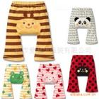 กางเกงขายาวลายสัตว์น่ารัก-คละลาย(15-ตัว/pack)