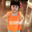 เสื้อแขนกุดไทย-ไทย-สีส้ม-(5ตัว/pack)