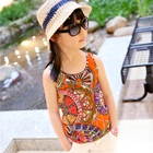 เสื้อกล้ามสไตล์อินเดียว-สีส้ม-(5ตัว/pack)