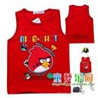 เสื้อกล้าม-Angry-Bird-สีแดง-(4-ตัว/pack)