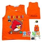 เสื้อกล้าม-Angry-Bird-สีส้ม-(4-ตัว/pack)