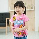 เสื้อยืดแขนสั้น-Party-Paint-สีชมพู-(5-ตัว/-pack)