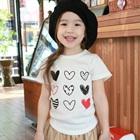 เสื้อยืดแขนสั้น-Lovely-heart-สีขาว--(5-ตัว/-pack)