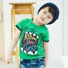 เสื้อยืดแขนสั้น-Party-Kids-สีเขียว--(5-ตัว/-pack)