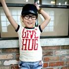 เสื้อยืดแขนสั้น-Give-Hug-สีขาว-(5-ตัว/-pack)