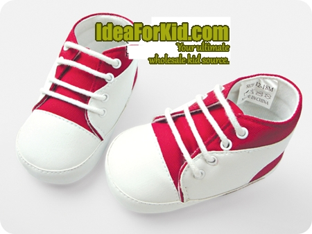 รองเท้าเด็ก Sport Non-Slip สีขาว