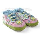 รองเท้าผ้าใบเด็กลายดอกไม้-Disney-สีชมพู-(6-คู่/แพ็