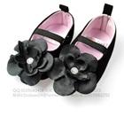 รองเท้าเด็กดอกไม้ใหญ่-Next--สีดำ-(6-คู่/แพ็ค)