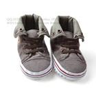 รองเท้าผ้าใบเด็ก-Tiger-สีเทาเข้ม-(6-คู่/แพ็ค)