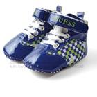 รองเท้าผ้าใบเด็ก-Guess-สีน้ำเงินเขียว-(6-คู่/แพ็ค)