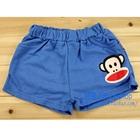 กางเกงขาสั้นลิงยิ้มแย้ม-สีน้ำเงิน-(4-ตัว/pack)