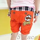 กางเกงขาสั้น-Pringles-สีส้ม-(5-ตัว/pack)