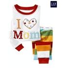 ชุดนอน-I-love-mom-สีขาว-(6-ตัว/pack)