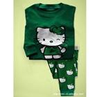 ชุดนอน-Hello-Kitty-สีเขียว-(6-ตัว/pack)
