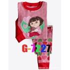ชุดนอนเด็กหญิง-Dora-สีชมพู-(6-ตัว/pack)
