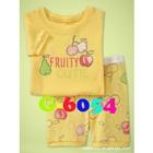 ชุดนอน-Fruity-สีเหลือง-(6-ตัว/pack)