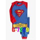 ชุดนอน-Super-Man-สีฟ้า-(6-ตัว/pack)