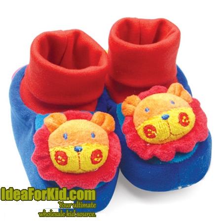 รองเท้าเด็ก สิงโต สีฟ้า