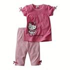 ชุดเสื้อกางเกง-Hello-Kitty-สีชมพู-(5size/pack)