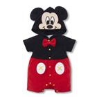 บอดี้สูท-Mickey-Mouse-สีดำแดง-(5-ตัว/pack)