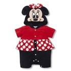 บอดี้สูท-Minnie-Mouse-สีแดงดำ-(5-ตัว/pack)