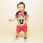 ชุดเสื้อกางเกง-Mickey-Mouse-สีแดง-(5size/pack)