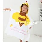 ผ้าขนหนูเด็ก-ลายผึ้งน้อยสีเหลือง-(5-ผืน/pack)