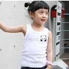 เสื้อกล้ามหมีแพนด้า-สีขาว-(5size/pack)