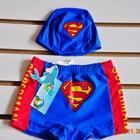 กางเกงว่ายน้ำพร้อมหมวก-Superman-สีฟ้า-(5-ตัว/pack)