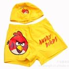 กางเกงว่ายน้ำพร้อมหมวก-Angry-Bird-สีเหลือง-(5-ตัว/