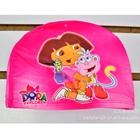 หมวกว่ายน้ำลายเด็กหญิงดอร่า--สีชมพู-(5-ใบ/pack)