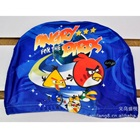 หมวกว่ายน้ำลาย-Angry-Bird-สีน้ำเงิน--(5-ใบ/pack)