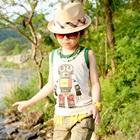 เสื้อกล้ามเด็ก-Robot-สีขาว-(5-ตัว/-pack)