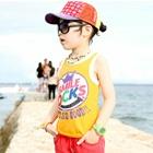 เสื้อกล้ามเด็ก-Smile-Rocks-สีเหลือง-(5-ตัว/-pack)