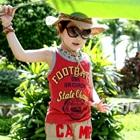 เสื้อกล้ามเด็ก-Football-สีแดง-(5-ตัว/-pack)