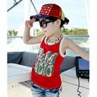 เสื้อกล้ามเด็ก-FM-RADIO-สีแดง-(5-ตัว/-pack)