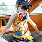 เสื้อกล้ามเด็ก-Made-of-love-สีเหลือง-(5-ตัว/-pack)