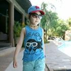 เสื้อกล้ามเด็ก-Beagle-สีฟ้า-(5-ตัว/-pack)
