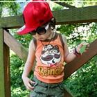 เสื้อกล้ามเด็ก-Bingles-สีส้ม-(5-ตัว/-pack)