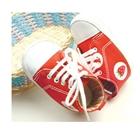 รองเท้าผ้าใบเด็ก-Strawberry-สีแดง