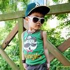 เสื้อกล้ามเด็ก-Bingles-สีเขียว-(5-ตัว/-pack)